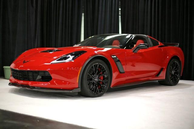Chevrolet Corvette at OC Auto Show Home