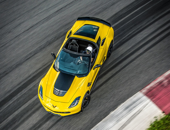 Corvette Z06 Road and Track Performance Car