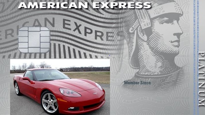 American Express Corvette Card