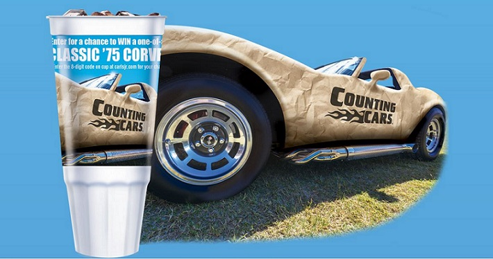 Carl's Jr. Corvettte