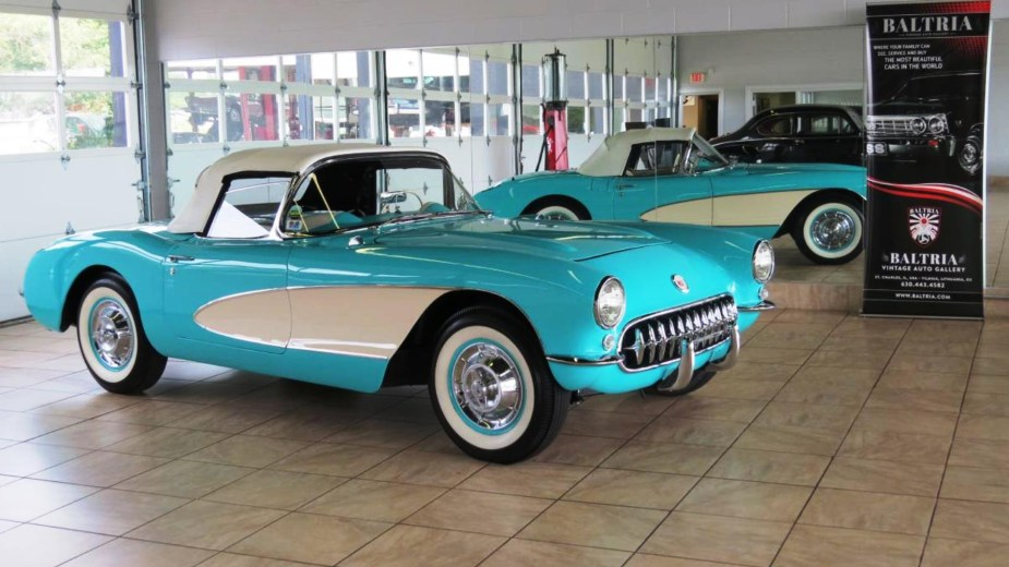 1956-57 Green