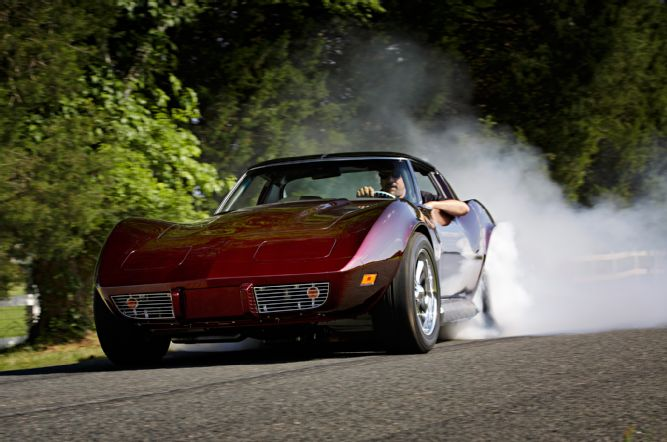 1976 Chevrolet Corvette Smokeout