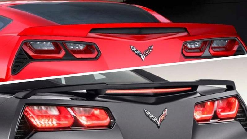 Corvette Rear Wings