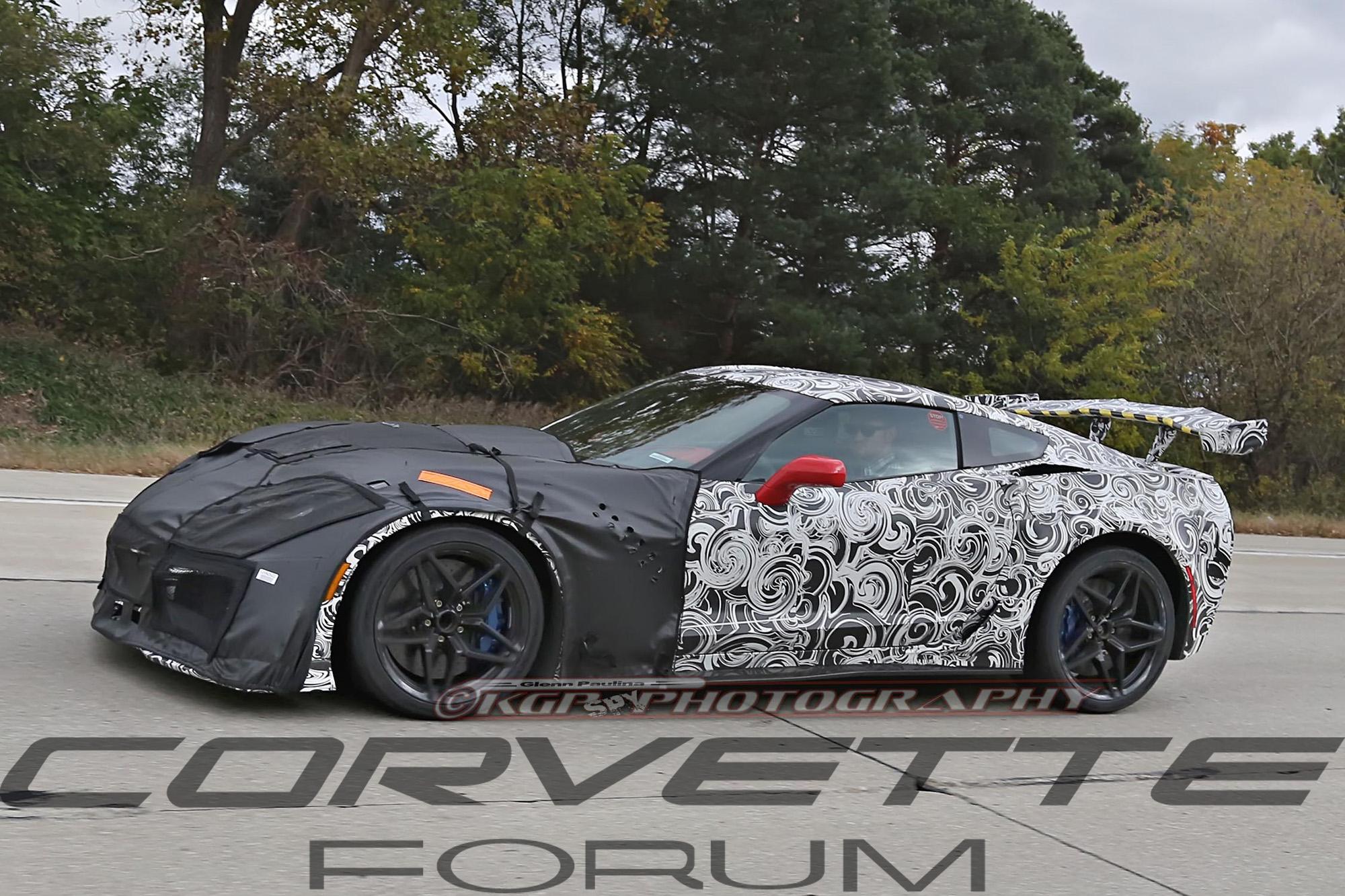 C7 Corvette Zr1 With Big Wing 6 Corvetteforum