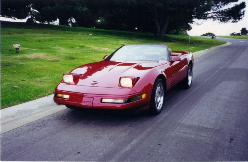 c4 corvette convertible