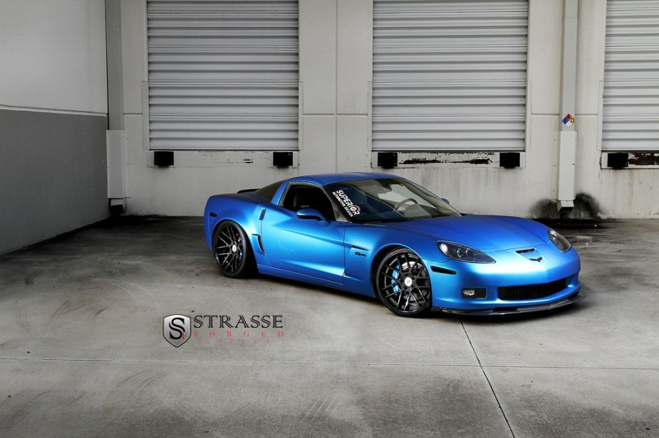 strasse wheels corvette c6