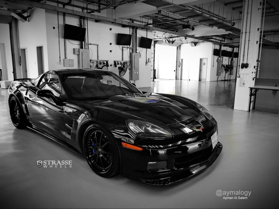 strasse wheels corvette c6