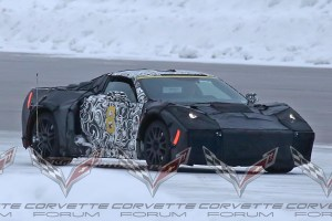 C8 Mid-Engine Corvette Spy Shot: Could it be a hybrid?