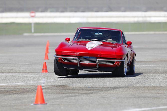 C3 Corvette Slalom