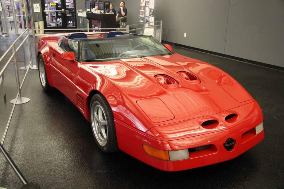 Callaway C4 Corvette at National Corvette Museum