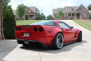 Custom Widebody C6 Corvette