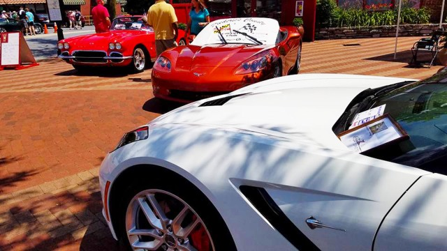 Everedy and Shab Row's 10th-Annual Corvette Show