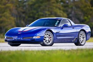 Commemorative Edition Z06 Family Le Mans Blue