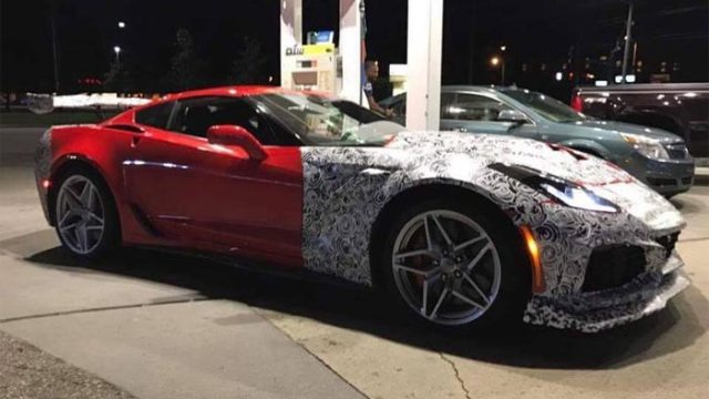 Here's a look at the 2018 Corvette ZR1 in the wild.