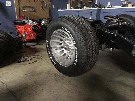 1981 C3 Corvette Engine Bay Wheel