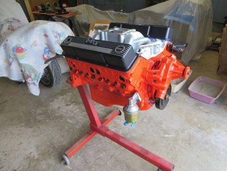1981 C3 Corvette Engine Restored