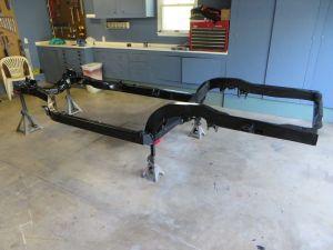 1981 C3 Corvette Frame Restored