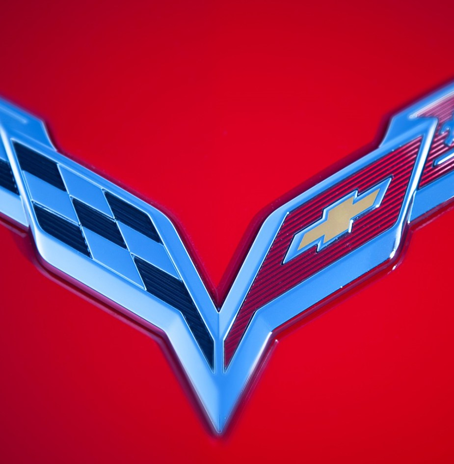 Australia Corvette Emblem