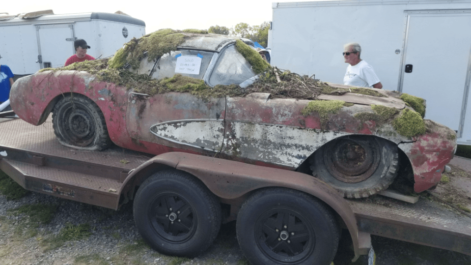 Was this a diamond in the rough at Corvettes at Carlisle?
