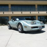 1982 Corvette in Rare Silver Green