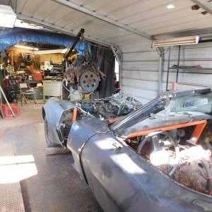 C3 Corvette Twin Engine