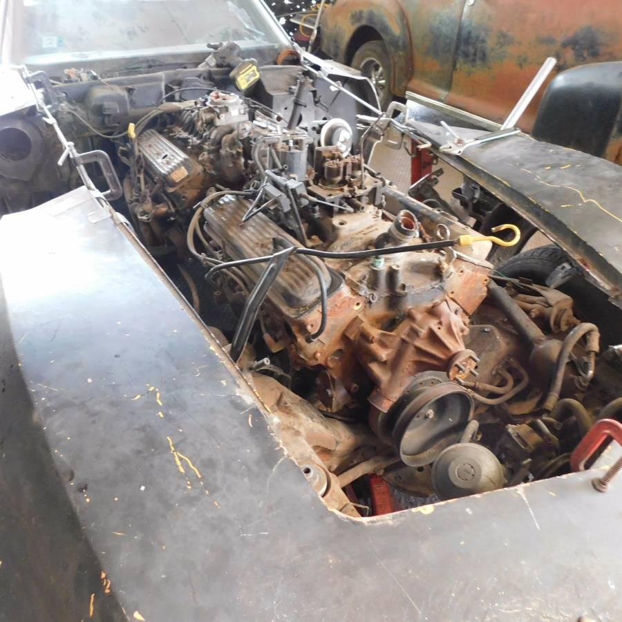 1976 twin-engine C3 Corvette