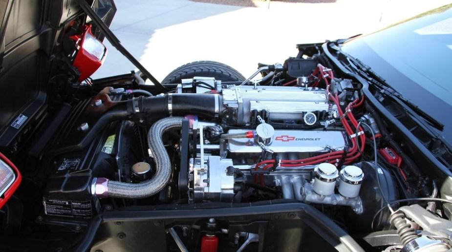 1985 C4 Corvette tuned engine