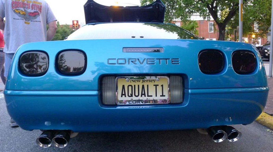 Corvette License Plates