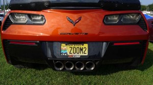 Corvettes at Carlisle Vanity Plates