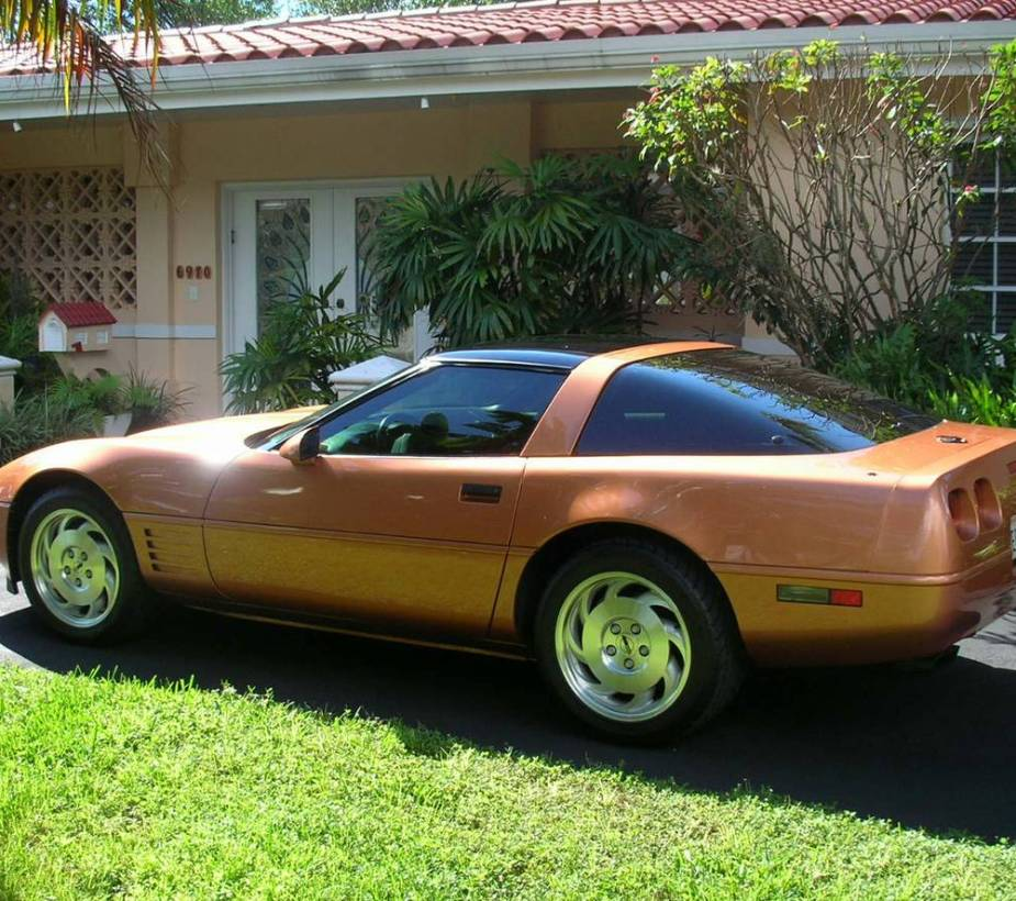 Copper C4 Corvette