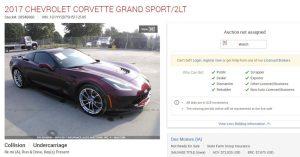 Cracked Corvette for Sale