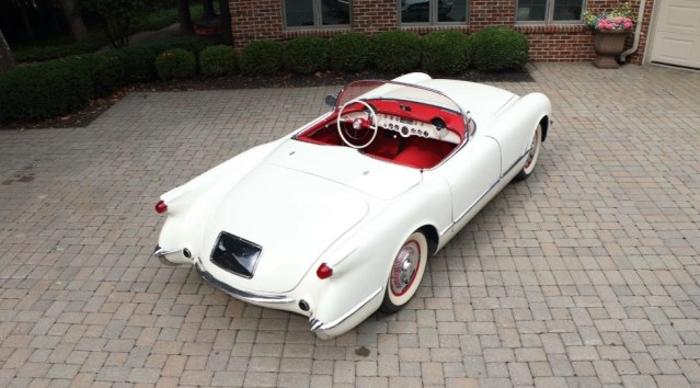 This 1953 Chevrolet Corvette is the 91st one ever made.