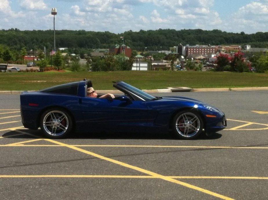 C6 Corvette Targa