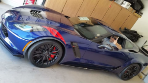 Is this C7 owner the victim of a joyriding detailer, or a victim of the Forums?