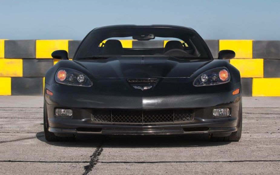 Doing a grille swap on a Corvette C6 is easy.