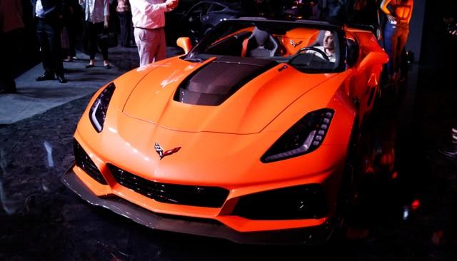 2019 Corvette ZR1 Convertible LA Auto Show