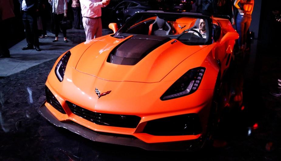 Corvette ZR1 Convertible LA Auto Show