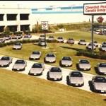 C4 Corvettes at Bowling Green