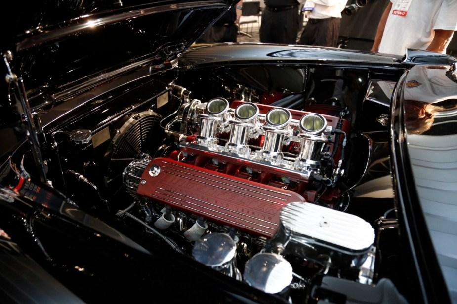 Borla induction kit 57 Corvette