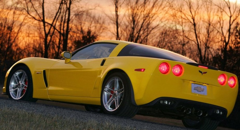 C6 Corvette Z06 rear