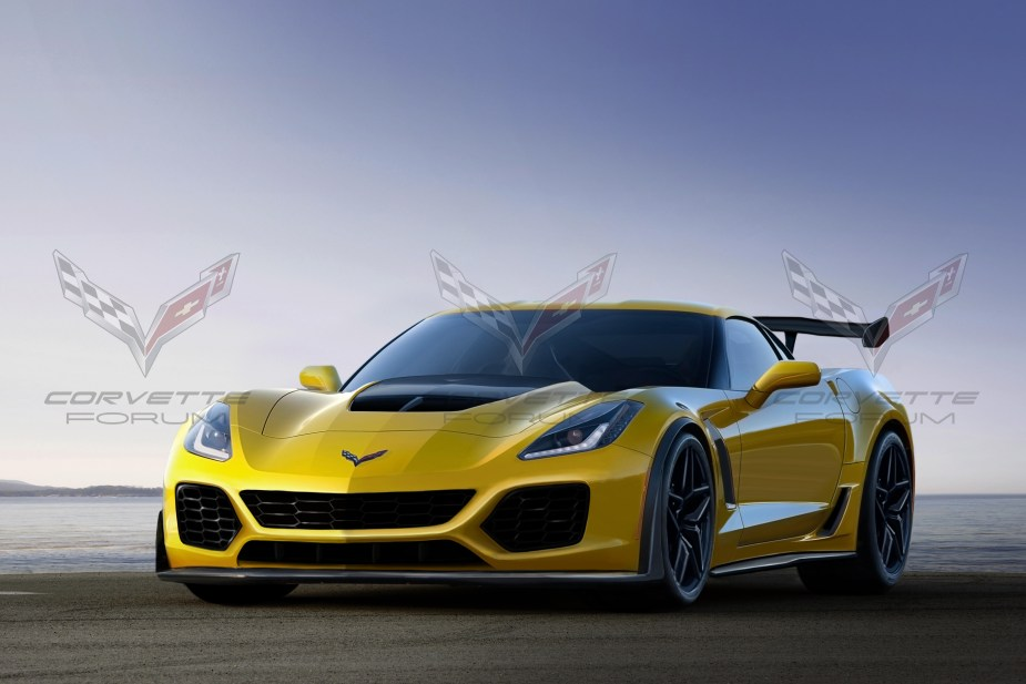 Corvette ZR1 render