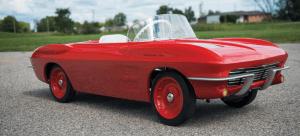 1963 Corvette Stingray kids electric car