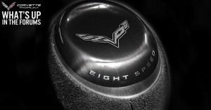2015 Chevrolet Corvette Shifter
