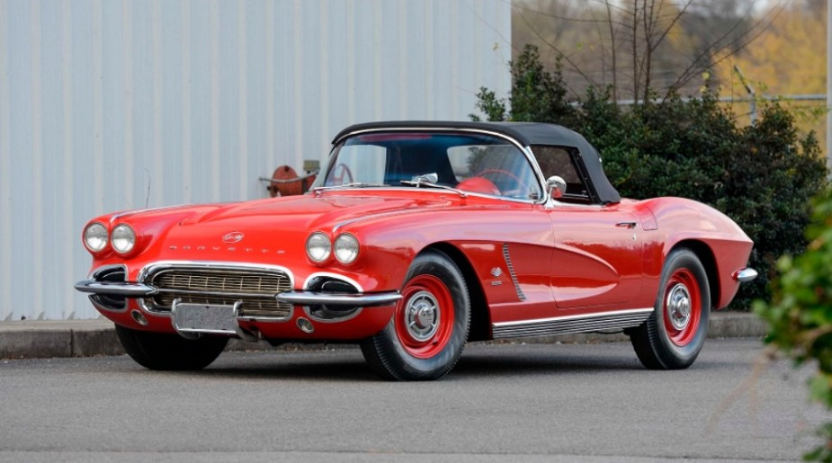 1962 Chevrolet Corvette Fuel Injection Big Brake