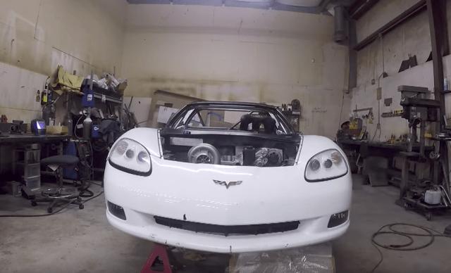 Formula Drift C6 engine