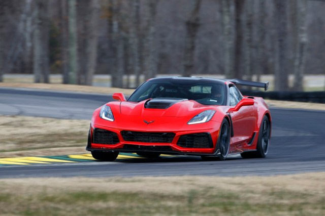 2019 Chevrolet Corvette ZR1 – VIR lap record holder on Grand Course West. (Richard Prince/Chevrolet photo).