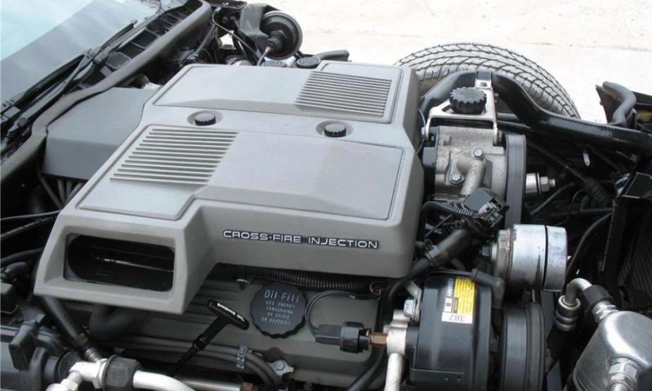 1984 Corvette Cross-Fire Injection