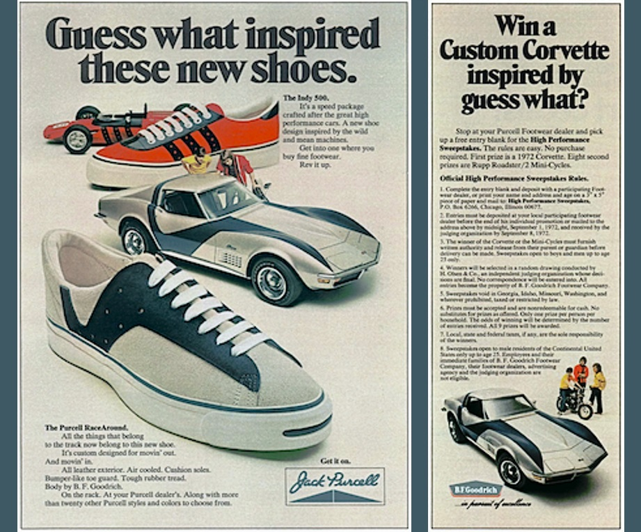 Jack Purcell RaceAround Magazine Ad