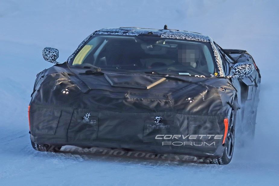 Mid-Engine Corvette Spy Shot 2018