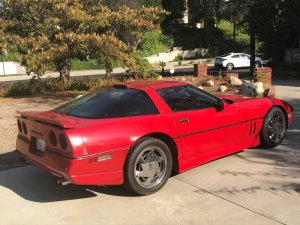 1988 Corvette Rear